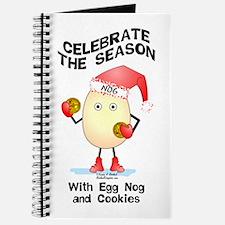 Holiday Egg Nog Journal