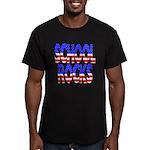 School Rocks Men's Fitted T-Shirt (dark)