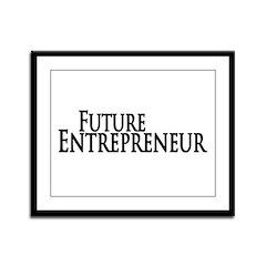 Future Entrepreneur Framed Panel Print