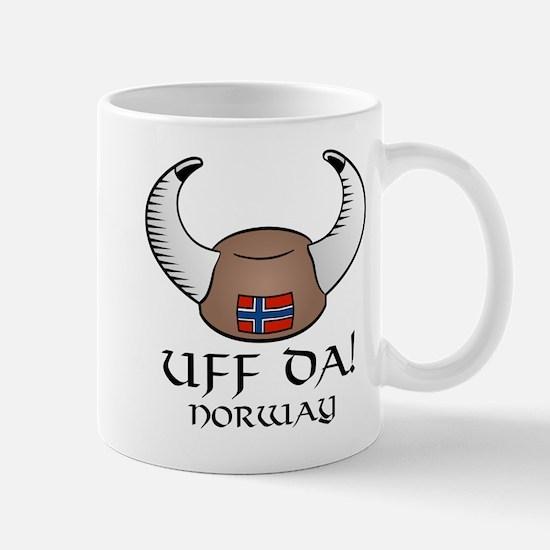 Uff Da! Norway Viking Hat Mug