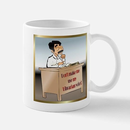 Male Librarian's Voice Mug