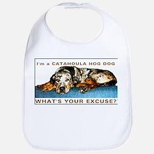 catahoula hog dog Bib