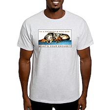 catahoula hog dog Ash Grey T-Shirt