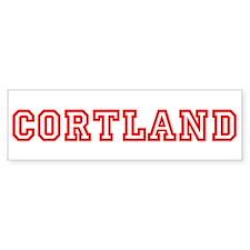 Cortland Bumper Bumper Sticker
