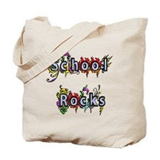 School Rocks Tote Bag