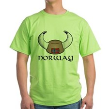 Norway Viking Hat (color) T-Shirt