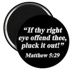 Matthew 5:29 Magnet