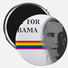 """Unique Obama rainbow 2.25"""" Magnet (100 pack)"""