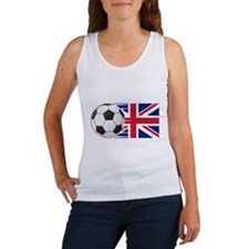 Britain Flag and Ball Tank Top