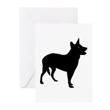 Aust Cattle Dog Greeting Cards (Pk of 10)