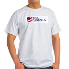 Santorum 06 Ash Grey T-Shirt