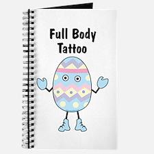 Full Body Tattoo Journal