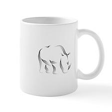 The Rhinoceros Small Small Mug