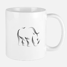 The Rhinoceros Small Small Mug