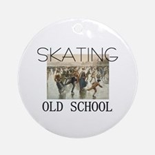 TOP Skating Old School Ornament (Round)