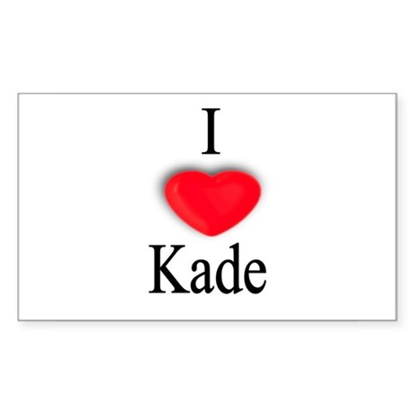 Kade Rectangle Sticker