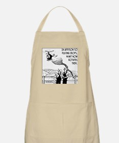 Crop Dusting & Rotation the Easy Way BBQ Apron