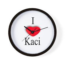 Kaci Wall Clock