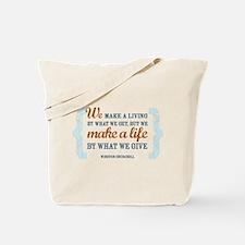 Make a Life Tote Bag
