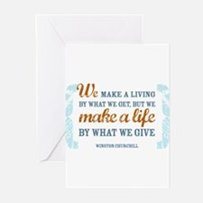 Make a Life Greeting Cards (Pk of 20)