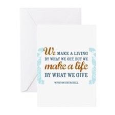Make a Life Greeting Cards (Pk of 10)