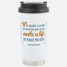 Make a Life Stainless Steel Travel Mug