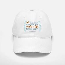 Make a Life Baseball Baseball Cap