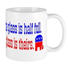 Democrats Vs. Republicans Small Mug