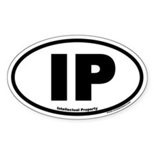 IP Euro Oval Decal