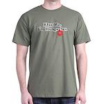 Kiss Me, I'm Hungarian Dark T-Shirt