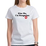 Kiss Me, I'm Hungarian Women's T-Shirt