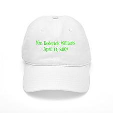 <br /> Mrs. Roderick Williams <br /> April 14, 200