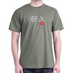 Kiss Me, I'm Czech Dark T-Shirt