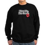 Kiss Me, I'm Czech Sweatshirt (dark)