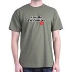 Kiss Me, I'm Croatian Dark T-Shirt