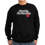 Kiss Me, I'm Croatian Sweatshirt (dark)