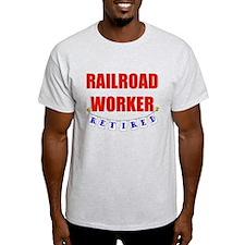 Retired Railroad Worker T-Shirt