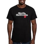 Kiss Me, I'm Bahamian Men's Fitted T-Shirt (dark)
