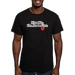 Kiss Me, I'm Australian Men's Fitted T-Shirt (dark