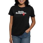 Kiss Me, I'm Argentinian Women's Dark T-Shirt