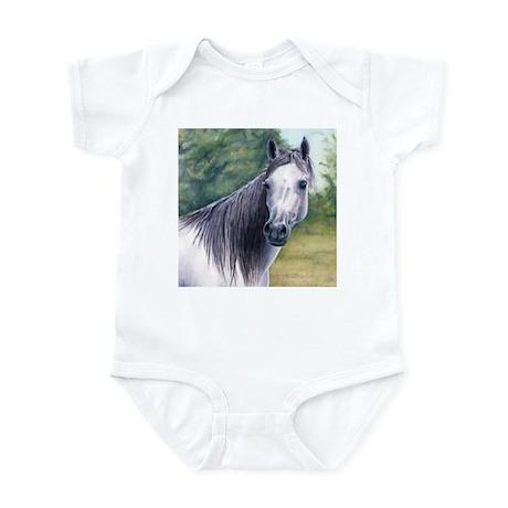 Grey Arabian Mare Infant Bodysuit