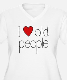 I Heart Old People T-Shirt