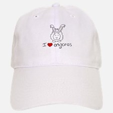 I Heart Angora Rabbits Baseball Baseball Cap