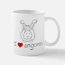 I Heart Angora Rabbits Mug