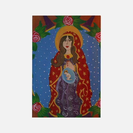 Immaculate Virgin Rectangle Magnet