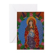 Immaculate Virgin Greeting Card