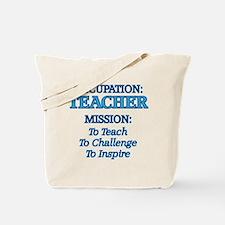 Teacher's Mission Tote Bag