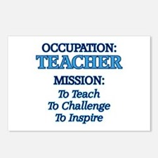Teacher's Mission Postcards (Package of 8)