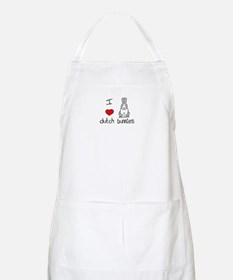 I Heart Dutch Rabbits BBQ Apron