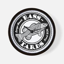 Bass-Tards Local 836 Wall Clock